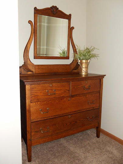 This Dresser Now Sits In A Newly Painted And Redecorated