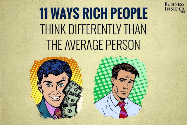 11 ways rich people think differently than the average person >>