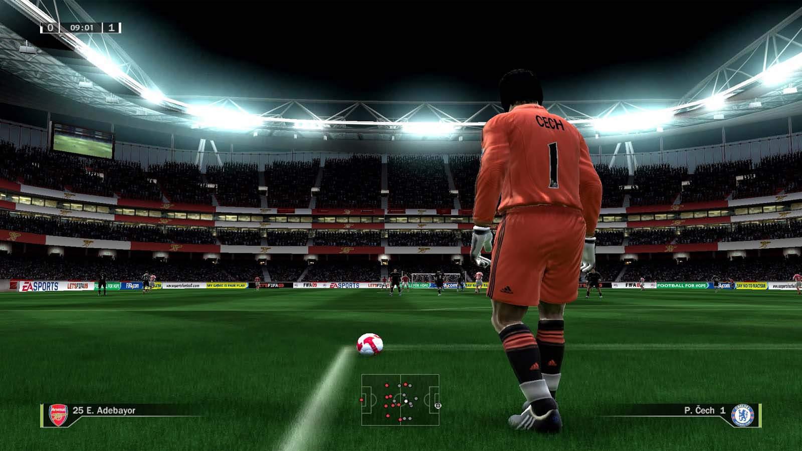 تحميل لعبة FIFA 2009 مضغوطة برابط واحد مباشر كاملة مجانا