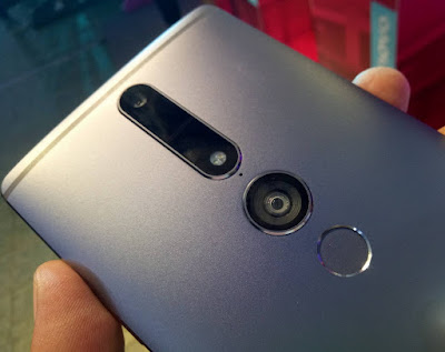 The Lenovo PHAB2 Pro Tango Camera