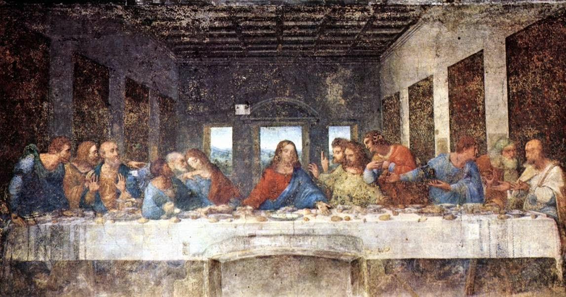Advocatus Atheist: Where Did All The Good Christians Go? Da Vinci Last Supper Original