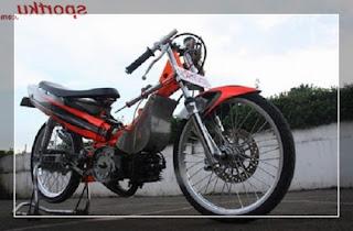 modifikasi velg motor yamaha crypton