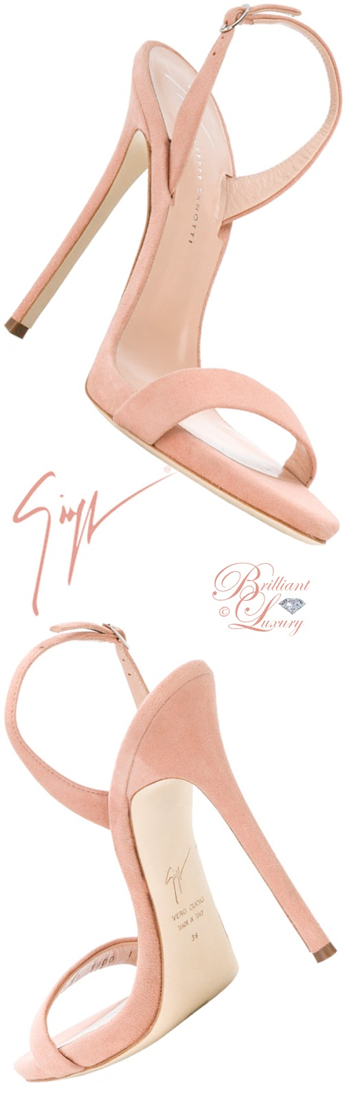 Brilliant Luxury ♦ Giuseppe Zanotti Sophie sandals