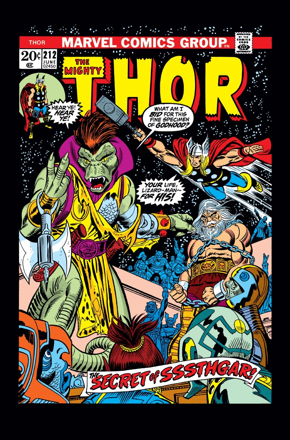 Thor (1966) 212 Page 1