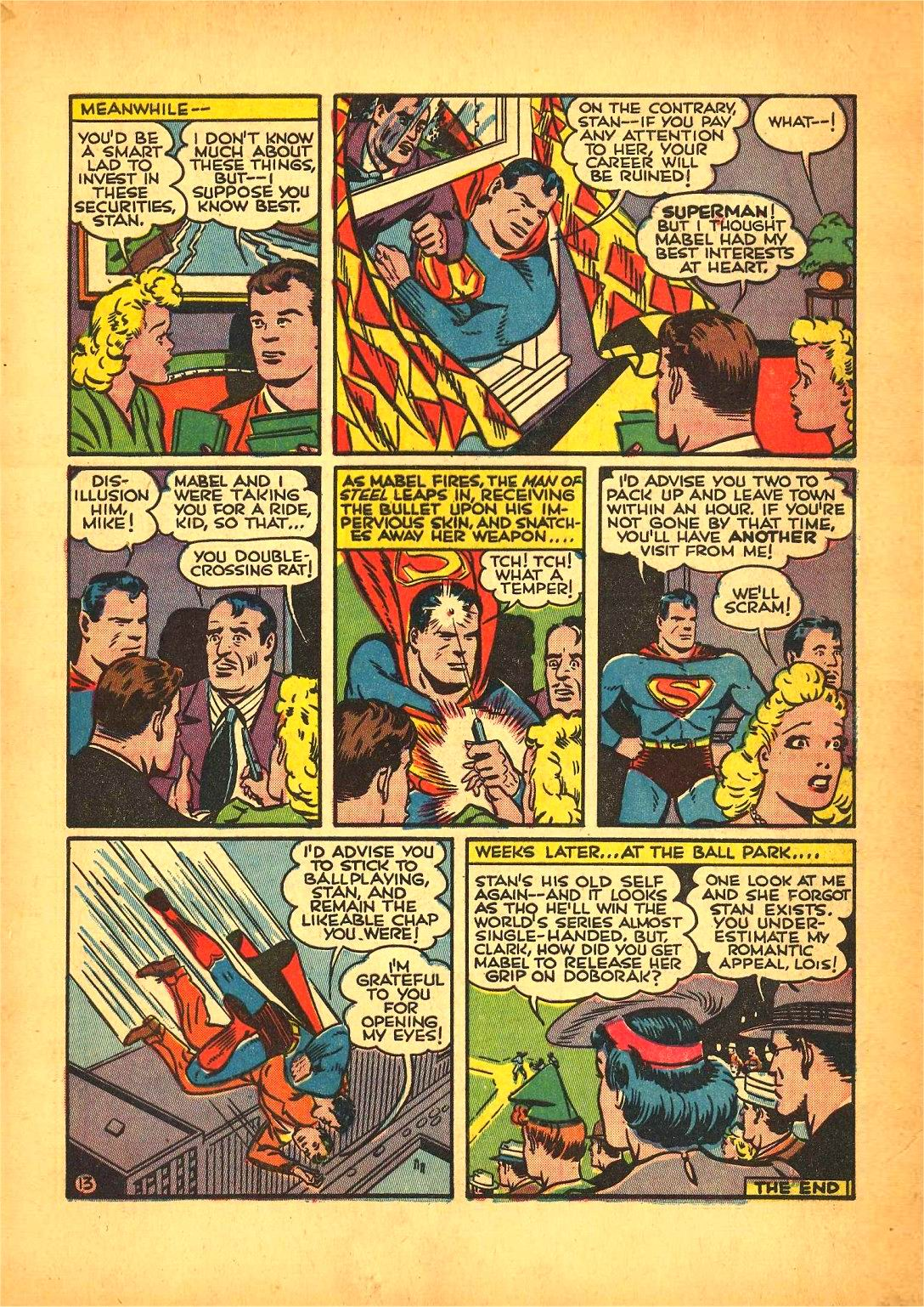 Read online Action Comics (1938) comic -  Issue #50 - 19