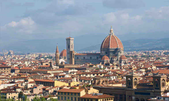 City Of Florence: Florence And Its Cityscape