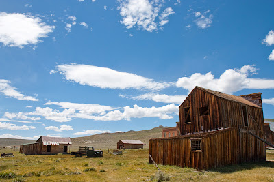 The ghost town of Bodie
