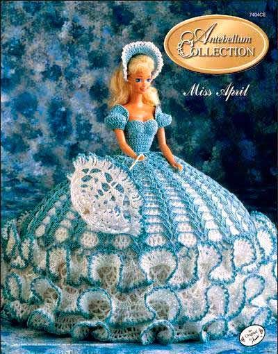 Vestidos crochet de Barbie