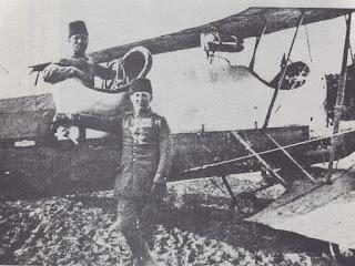 Balkan Savaşı'nda Osmanlı uçağı