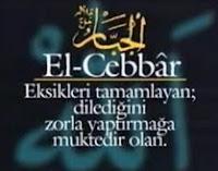 Allahın EL-CEBBAR YÂ CEBBAR İsmi 206 Defa Niye Okunur?
