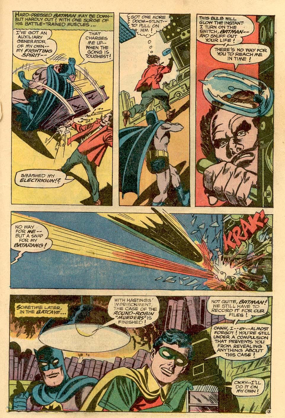 Detective Comics (1937) 367 Page 20