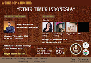 Workshop and Foto Hunting 2016 Surabaya