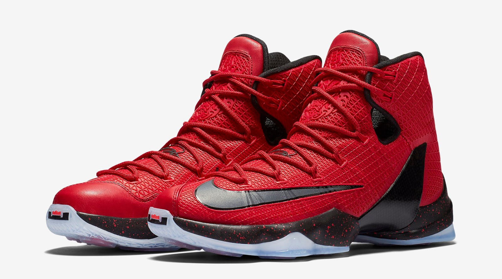 a4171ce8e77102 ajordanxi Your  1 Source For Sneaker Release Dates  Nike LeBron 13 Elite  University Red Bright Crimson-Black Release Reminder