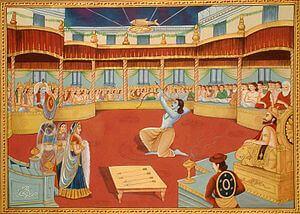 draupadi swayamwarm mahabharata story,draupadi swayambar story in hindi