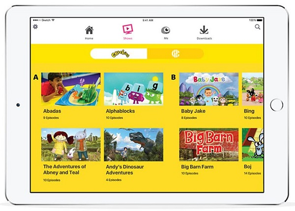 BBC releases iPlayer Kids app for Android, iOS and Kindle Fire