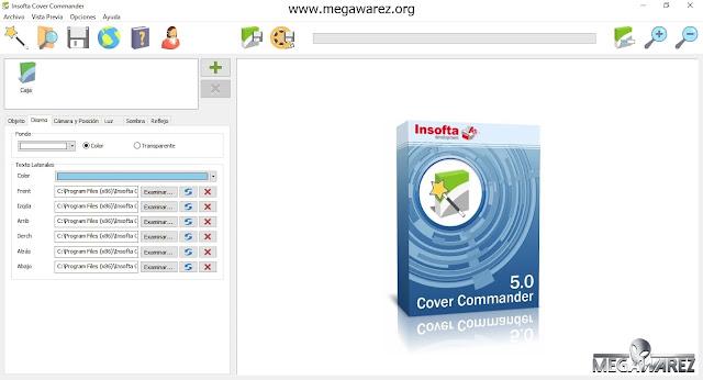 Insofta Cover Commander 5.0.0 imagenes