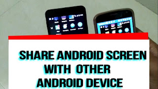 Mirror Android Screen to Another Android