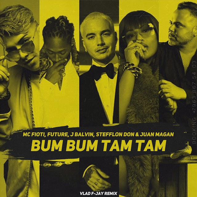 MC Fioti, Future, J Balvin, Stefflon Don Y Juan Magan - Bum Bum Tam Tam (Clean / Dirty) - Single