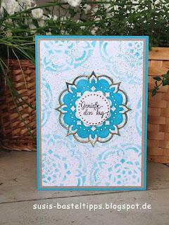 """Stampin' Up! Produktpaket """"Schönheit des Orients"""" Teil 2: DIY Stempel aus Moosgummi und verschiedene Ideen"""