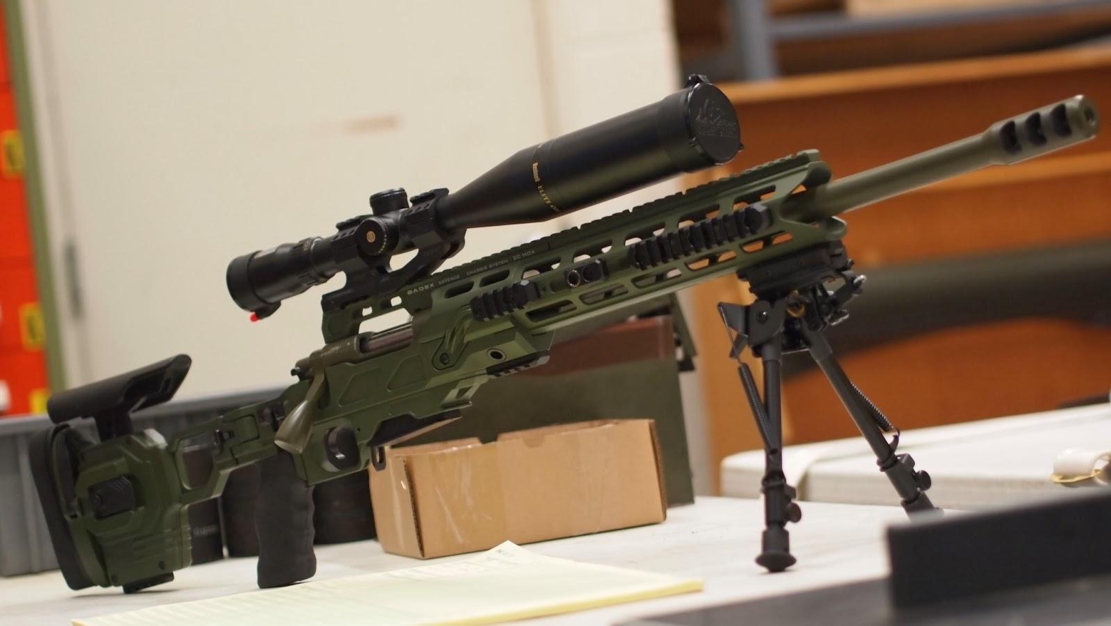 Mister Donut's Firearms Blog: Cadex 700