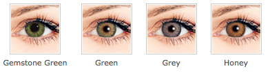 Freshlook colourblends gemstone green