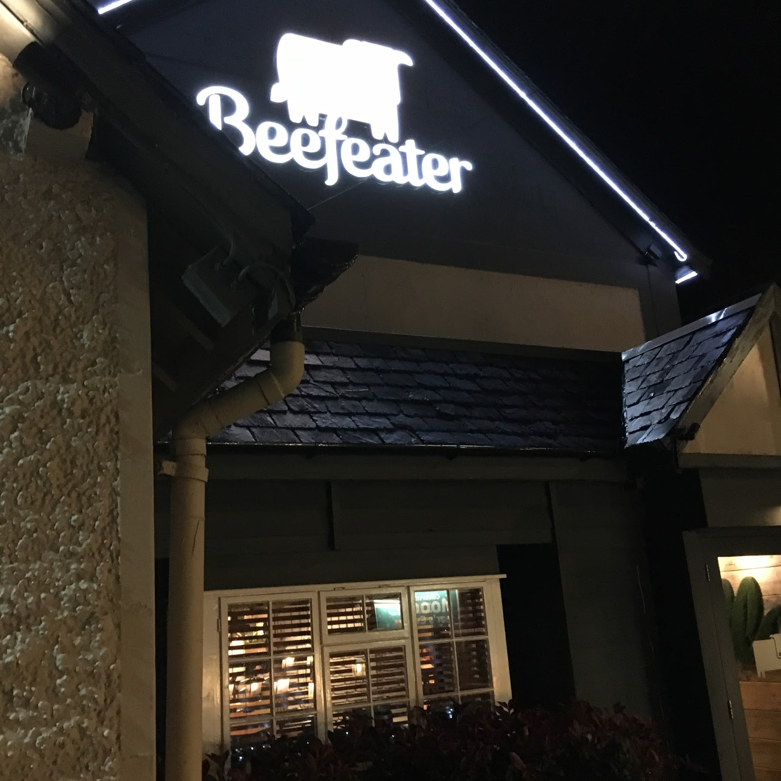 Beefeater Festive Menu 2016