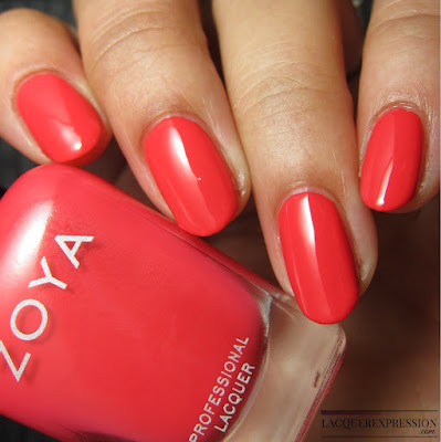 nail polish swatch and review of Zoya Sonja from the summer 2017 Wanderlust collection