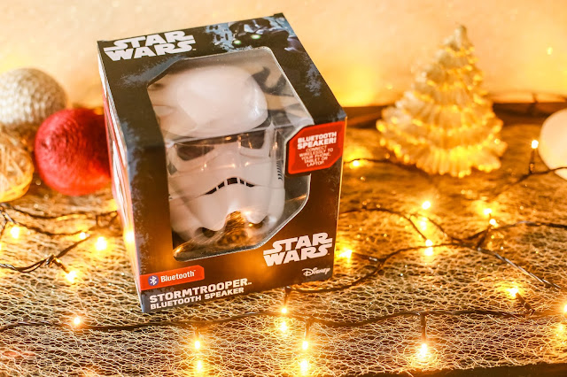 Stormtrooper bluetooth speaker. Christmas Gift Guide 2017 - Mandy Charlton's biggest ever Christmas gift guide. The only gift guide you'll need to find presents and gift ideas for the people you love this holiday season