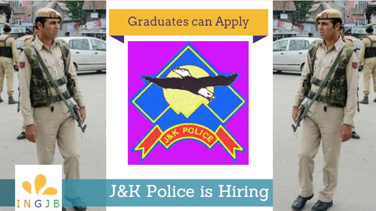 Jammu-and-Kashmir-police -recruitment-2017
