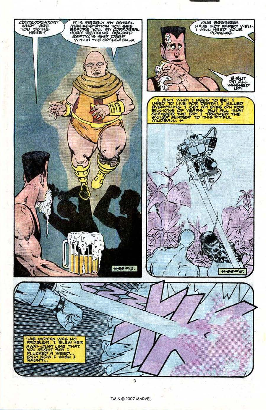 Read online Silver Surfer (1987) comic -  Issue #21 - 5