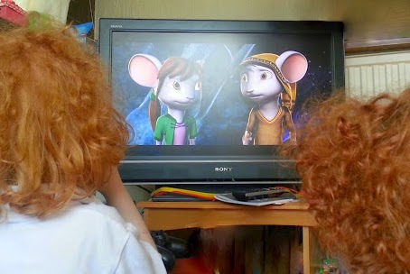 Children watching A Mouse's Tale DVD Review
