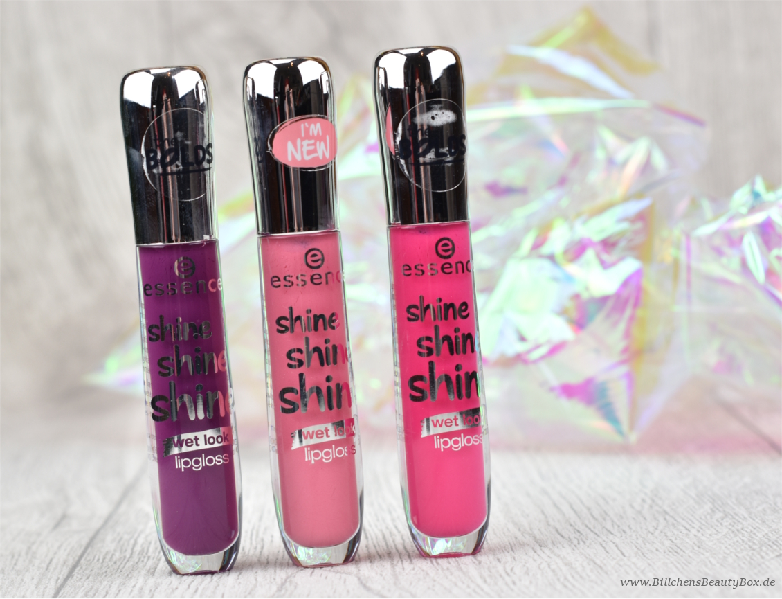 essence - Shine Shine Shine Lipgloss - Review und Swatches