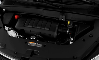 2019 Chevrolet Traverse LS Engine