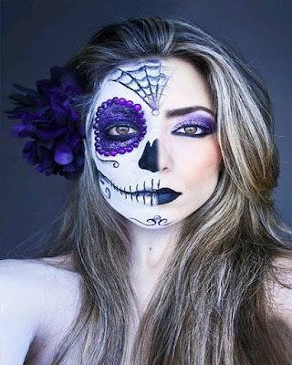 maquillaje de fantasia catrina