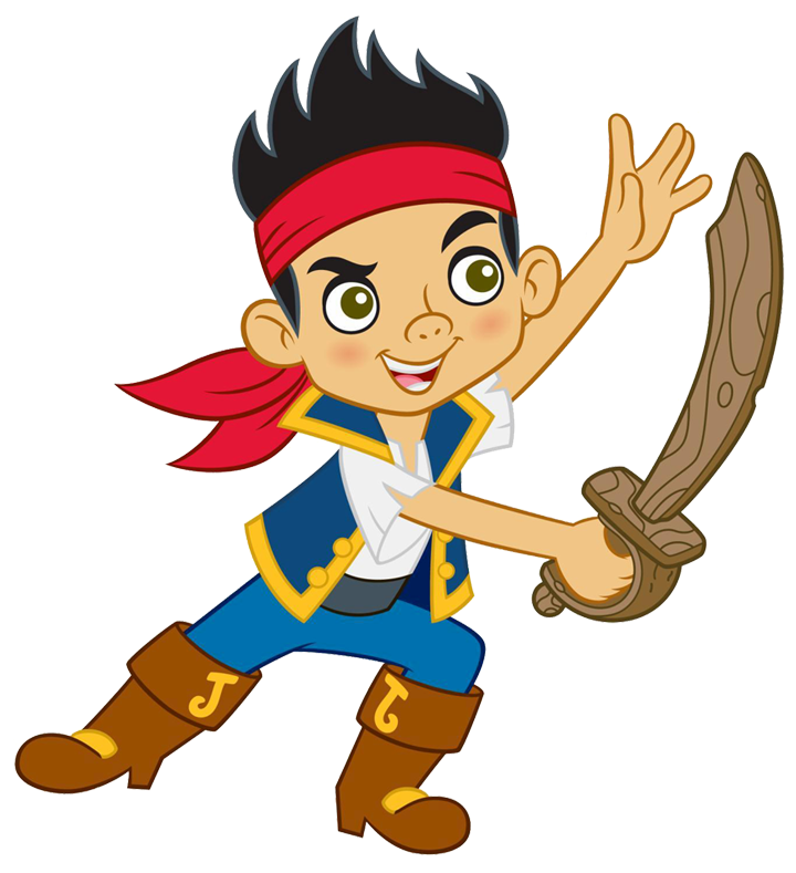 Cartoon Characters: Jake and the Neverland Pirates