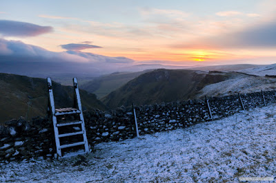 Cold Start Winnats Pass