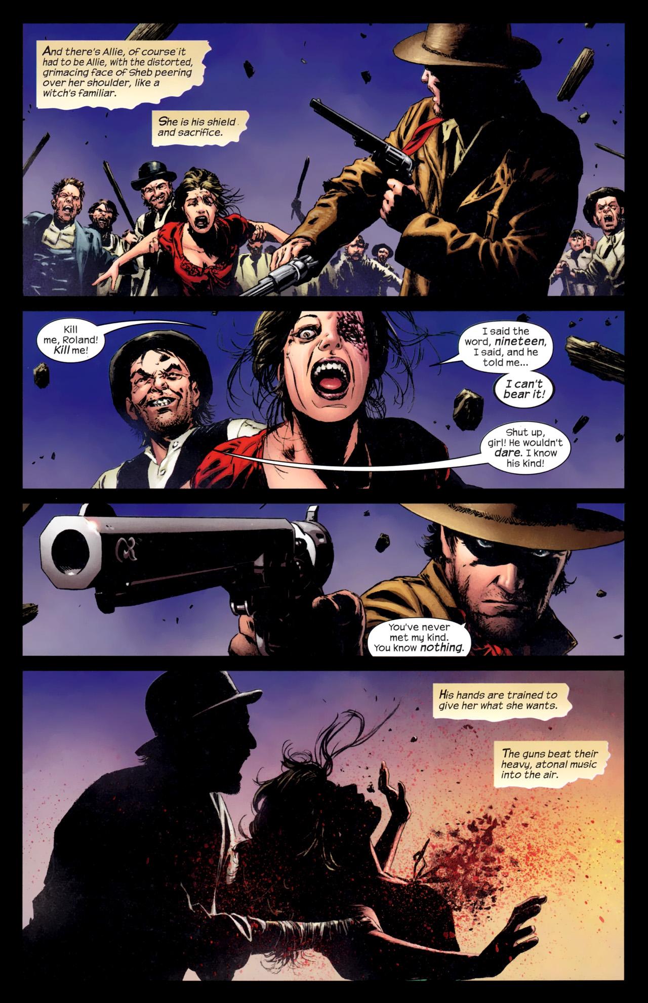 Read online Dark Tower: The Gunslinger - The Battle of Tull comic -  Issue #5 - 5