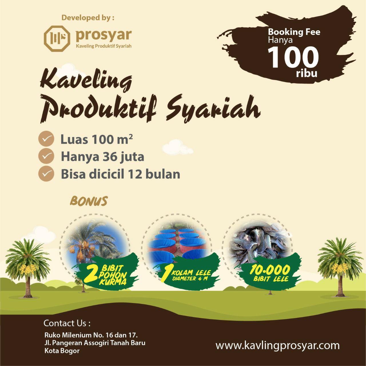 kavling produktif syariah