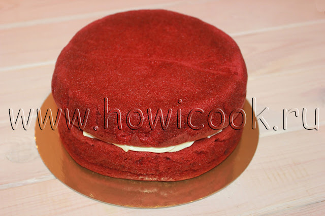 рецепт торта красный бархат с пошаговыми фото