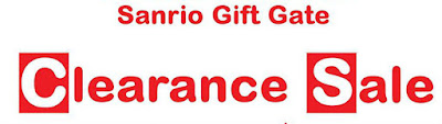 Sanrio Gift Gate Clearance Sale