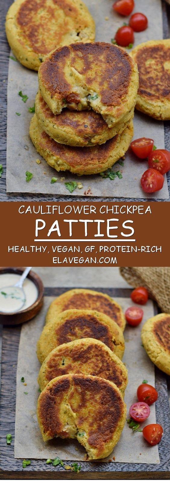 GLUTEN FREE RECIPES   Cauliflower patties recipe