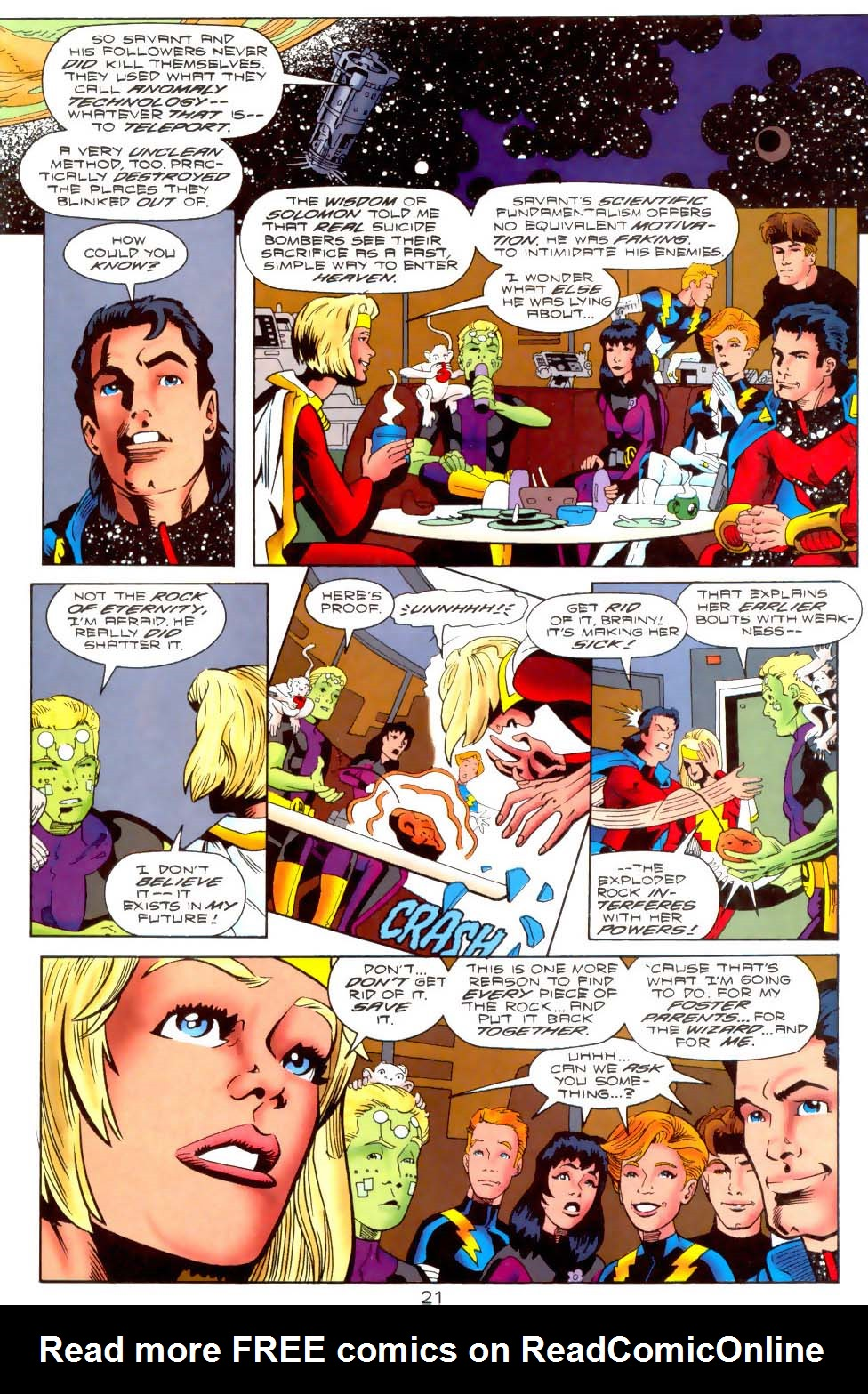 Legion of Super-Heroes (1989) 110 Page 21
