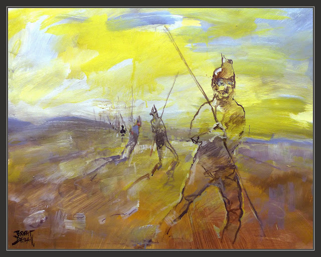 ALEXANDRE EL GRAN-ART-ALEJANDRO MAGNO-ARTE-PINTURA-DESERT-DESIERTO-GÈDROSIA-RETIRADA-HISTORIA-PINTURES-ARTISTA-PINTOR-ERNEST DESCALS-