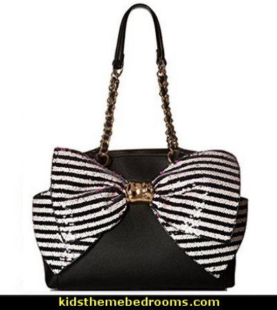 Betsey Johnson Bow-Lesque Satchel