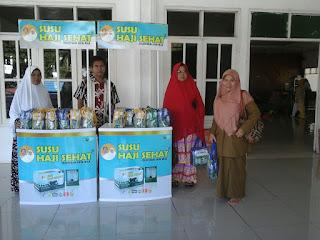 Edukasi Kesehatan kpd Jamaah Haji Kabupaten Sijunjung bersama SUSU HAJI SEHAT, 25 Juli 2017 Sumatera Barat