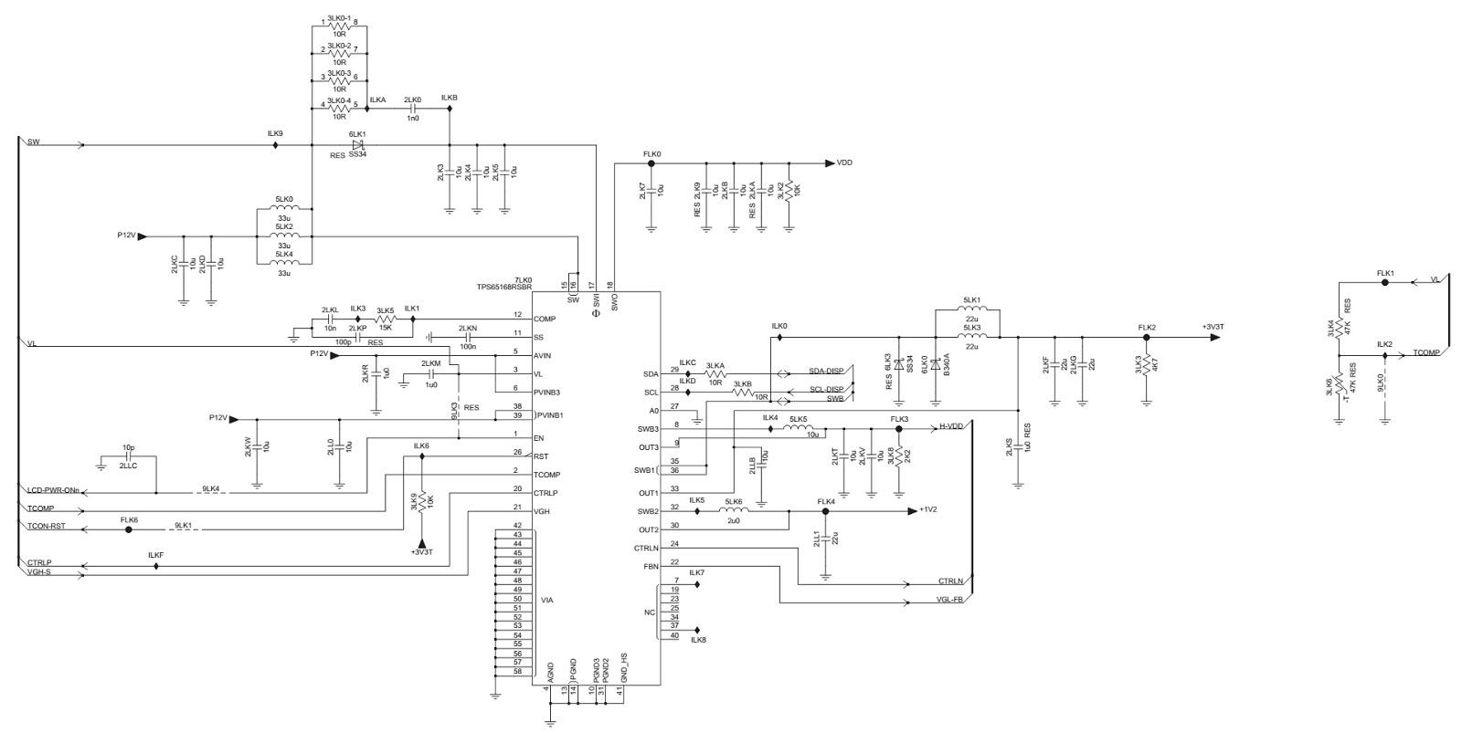 T Con Circuit Diagram - Data Wiring Diagram