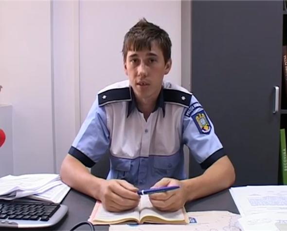 Şef nou la Poliţia Rutieră Suceava: tânărul inspector Gabriel Apopei,împuternicit pe funcţia de şef serviciu