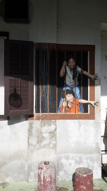 Mural di Penang, Asia Rasa Eropa