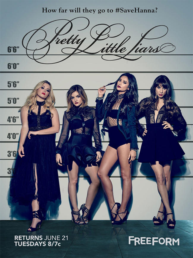 Pretty Little Liars – Todas as Temporadas Online