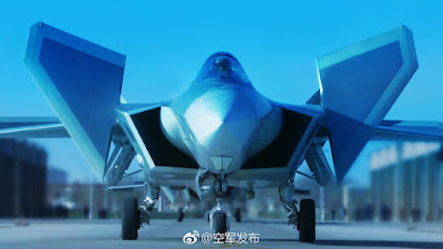 China J-20 Fighter Jet